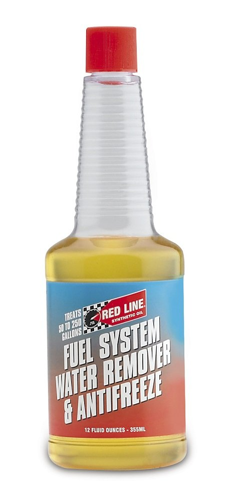 Red Line 60302-12PK Fuel System Water Remover and Anti-Freeze - 12 Ounce, (Pack of 12) by Red Line