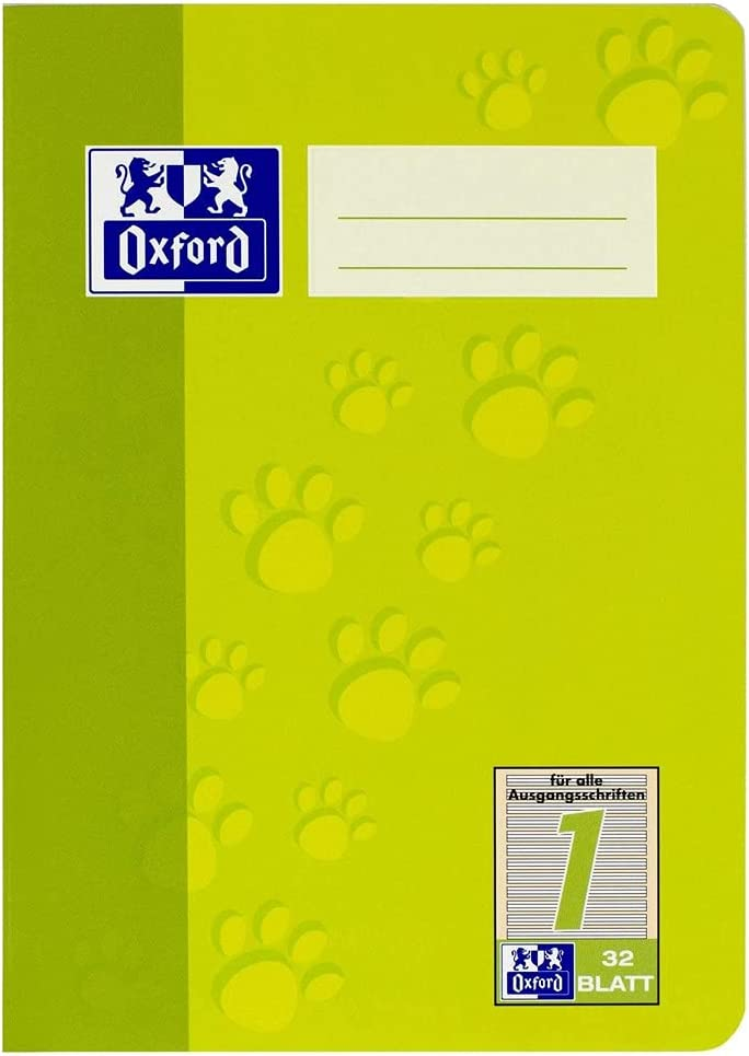 Ranking TOP13 Shipping included Oxford 100050375 Exercise Book A5 Type School Page 1 Yea Ruling