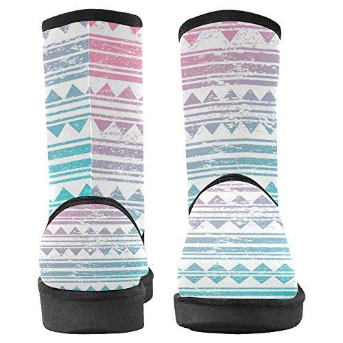 Scarponi Da Neve Womens Interestprint Stivali Invernali Comfort Dal Design Unico Multi 25