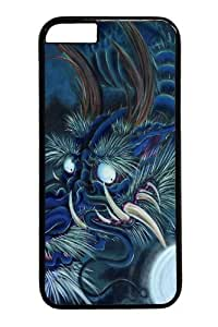 Case Cover For Apple Iphone 6 4.7 Inch and Cover -Blue Dragon PC Case Cover For Apple Iphone 6 4.7 Inch and iCase Cover For Apple Iphone 6 4.7 Inch Black