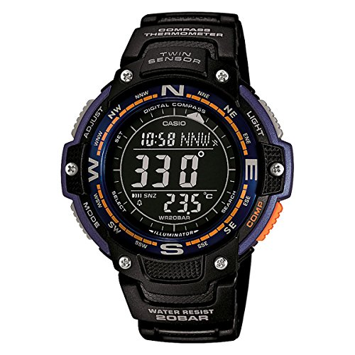 Casio SGW100 2B Digital compass Thermometer
