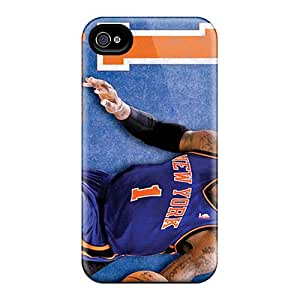 Protector Cell-phone Hard Cover For Iphone 4/4s With Allow Personal Design Trendy New York Knicks Pattern AnnaDubois