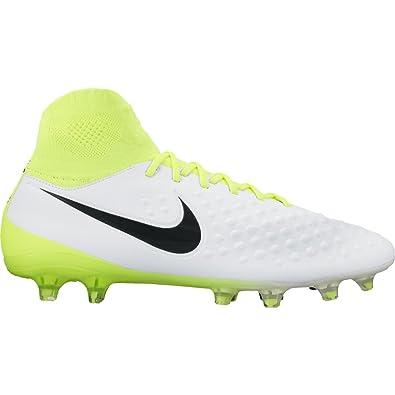 194ddd74e Nike Mens Magista Orden II Firm Ground Soccer Cleats - (White Black-Volt
