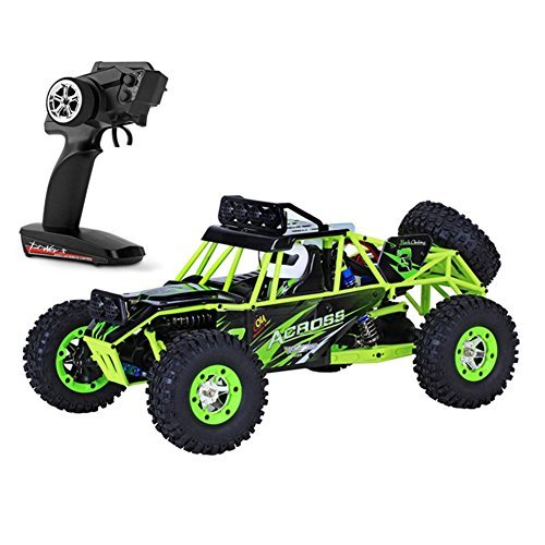 Price comparison product image TruReey RC Car High Speed 45km / h 4x4 Fast Racing Cars 1:12 SCALE 4WD Rock Crawler ELECTRIC POWER W / 2.4G Radio Remote control Off-Road Vehicle Buggy Truck Powersport Roadster RTR