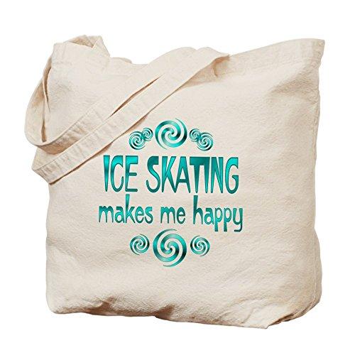 CafePress–Patinaje sobre hielo–Gamuza de bolsa de lona bolsa, bolsa de la compra