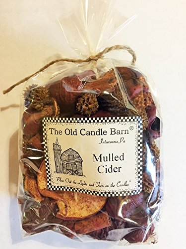 Mulled Cider Potpourri 4 Cup Bag - Perfect Fall Decoration or Bowl Filler - Beautiful Autumn Apple Scent