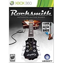 Rocksmith Authentic Guitar Games Software Only [Xbox 360]