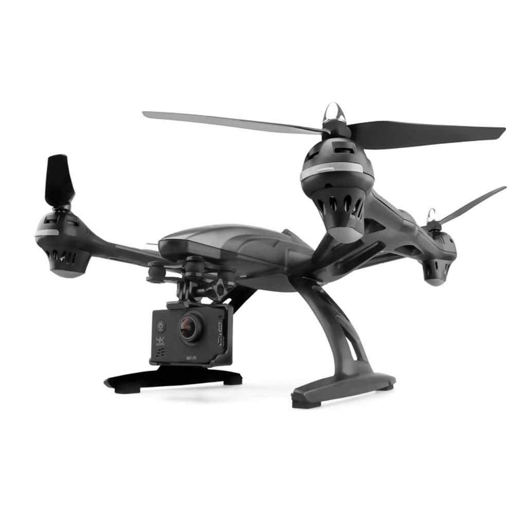 FTOPS WiFi FPV-Drohne mit HD-Kamera Live-Video-RC-Quadcopter mit APP-Steuerung, Höhenstand, Headless-Modus, One Key Return, One Key-Start/Landing und 3D-Flips