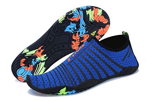 4 Chaussures Hommes Yoga Plonge Rapide Plage De Femmes Pour Piscine Bain Aquatiques En Ummaid Surf bleu Schage La Eau qTantpdwfw