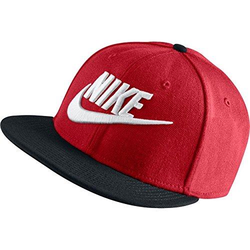 Nike Men's Futura True 2 Snapback Cap, University Red/Black