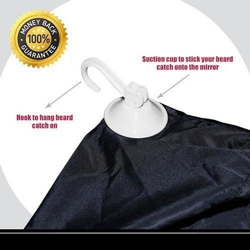 beard catcher mustache beard hair trimmer apron beard bid. Black Bedroom Furniture Sets. Home Design Ideas
