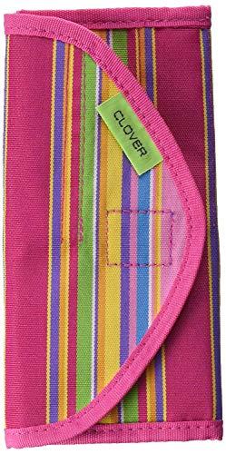 (Clover RUS-655040 Getaway Soft Touch Crochet Hook Case-)
