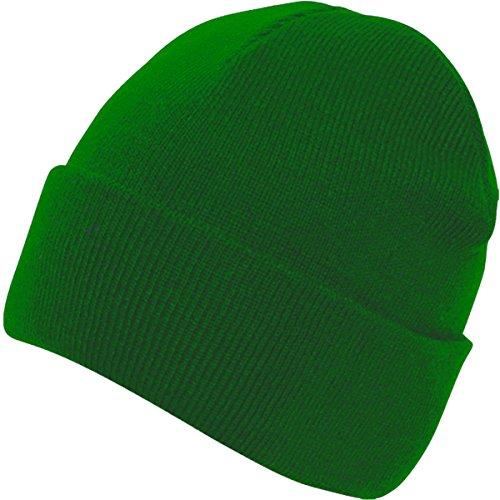 doble verde Cap adultos Casualwear gorro botella Beanie ropa Absoluta Pee piel hombres sombrero qF6n0qP