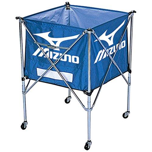 MIZUNO(ミズノ) 折りたたみ式 ボール収納カゴ (携帯用ワンタッチ式キャスター付) 9VA83 27:ブルー B008HINDLK