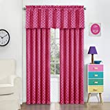 Eclipse 15655052084RSP Kai 52-Inch by 84-inch Thermal Blackout Single Window Curtain Panel, Raspberry