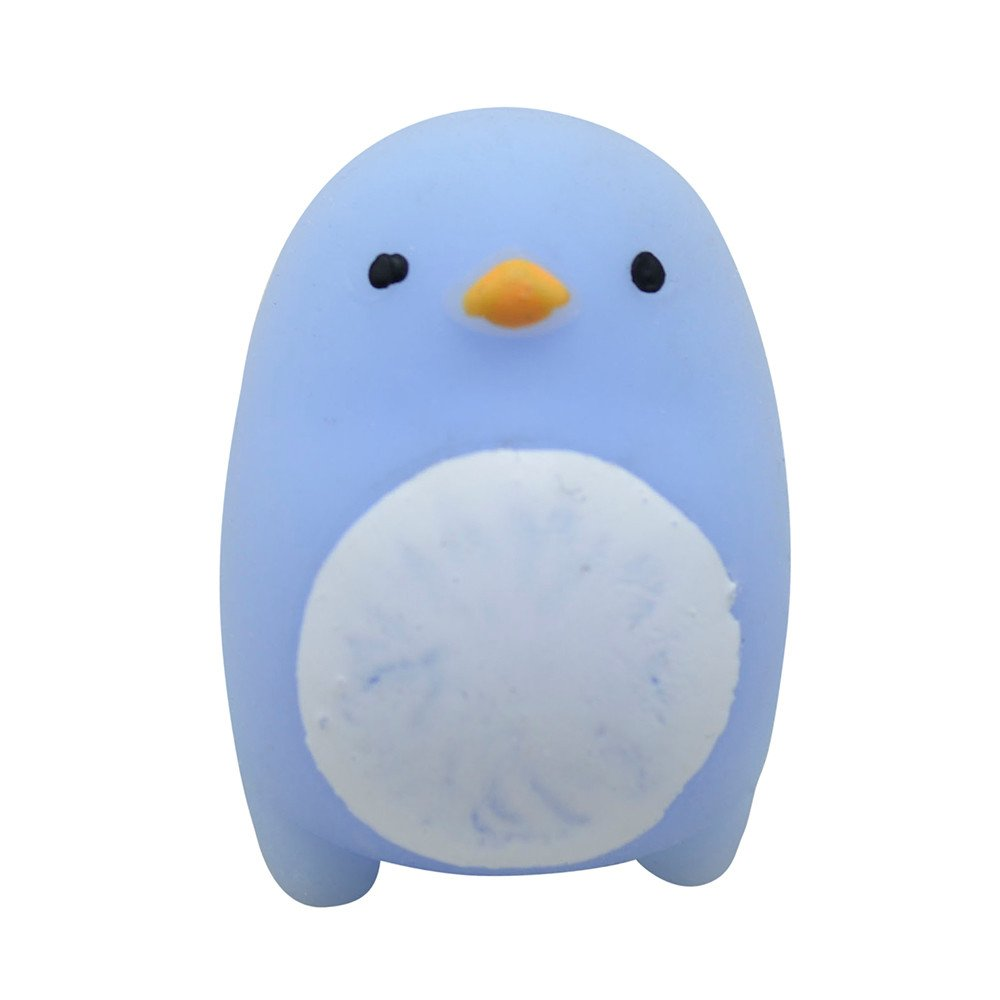 Slow Rising Squishies Toys Mochi Squishy Animal Toy Soft Squishy Stress Relief Toys Soft Squeeze Anti-Anxiety Toys Christmas Brithday Gift Decorative Props Doll Gift (Penguin)