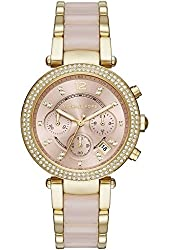 Michael Kors MK6326 Ladies Parker Blush Chronograph Watch