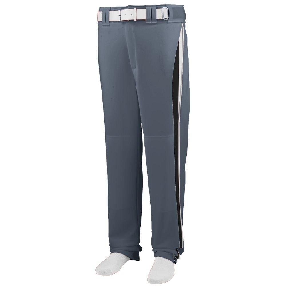 Augusta Sportswearメンズラインドライブ野球パンツ B00HJTN6VU X-Large|グラファイト/ブラック/ホワイト グラファイト/ブラック/ホワイト X-Large