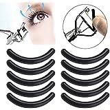 fefe899e689 10pcs Eyelash Curler Replacement Pads Refill silicone Cosmetic Makeup Tools False  Eyelashes…