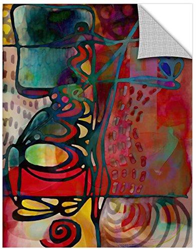 Delores Orridge Naskrent Batik Contempo Gallery Wrapped Canvas 14X18
