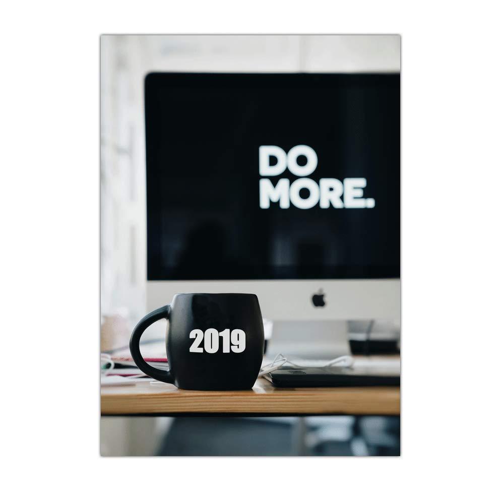Glückwunschkarte für Unternehmen Unternehmen Unternehmen 2019 – 32 Karten – Faire Plus für dieses neue Jahr – Dispo in 3 Formate Carte pliée - 14 cm x 19,5 cm B07K4CC5HX   Schöne Kunst    Einzigartig    Qualitativ Hochwertiges Produkt  36d15f