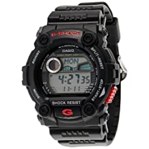Casio G7900-1DR Black Plastic Band & Case Mineral Men's Watch