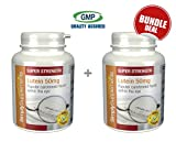 Lutein 50mg Bundle Deal 120 Capsules in total by SimplySupplements