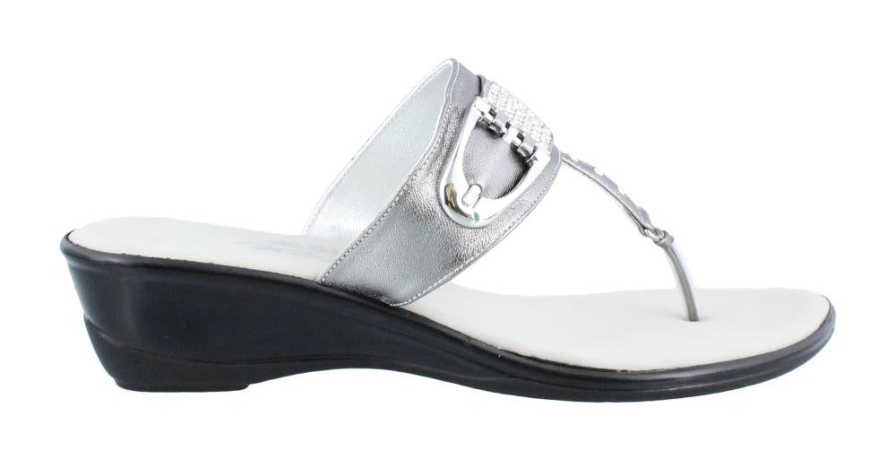 Onex Women's Balboa Thong Sandal,Pewter,10 M US by Onex