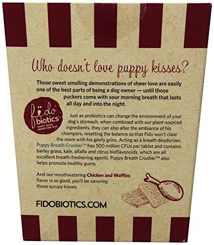 Puppy Breath Crusher By Fidobiotics - Best Dog Breath