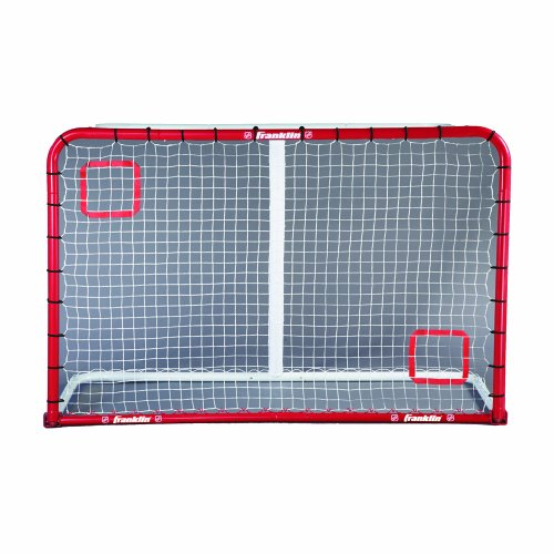 - Franklin Sports NHL Street Hockey Goal Return Trainer, 54-by-44-Inch