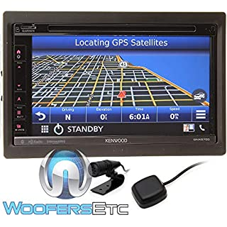Discount Kenwood DNX575S in-Dash Multimedia Receiver with Navigation