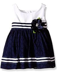 Baby Knit To Eyelet Dress