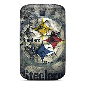 Hot Fashion CDH1428LKmQ Design Cases Covers For Galaxy S3 Protective Cases (pittsburgh Steelers)