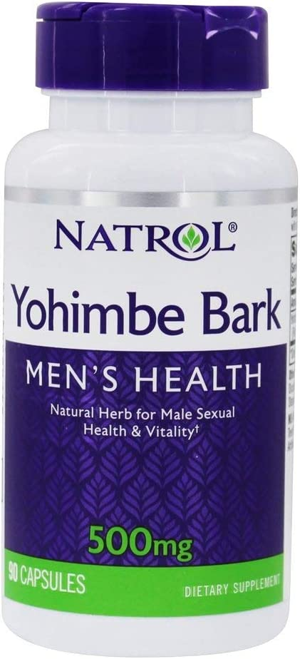 Yohimbe Bark - 500 mg, 90 Capsules: Health & Personal Care
