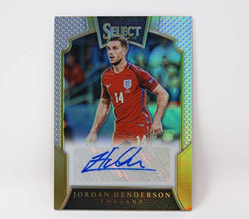 Henderson Autographs (Jordan Henderson England 118/149 S-JHE Panini Select Auto Autograph Signature Trading Card Exclusive Collectible Football Soccer)