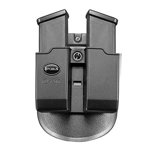 Fobus Roto Paddle 6945G Double Mag Holster 10mm/45acp Glock & Para Ord ()