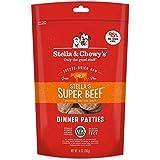 Stella & Chewy'S Freeze-Dried Raw Stella'S Super Beef Dinner Patties Dog Food, 14 Oz. Bag