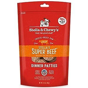 Stella & Chewy's Freeze-Dried Raw Stella's Super Beef Dinner Patties Grain-Free Dog Food, 14 oz. bag 77
