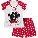 Disney Minnie and Mickey Mouse Perfect in Every Way Short Ladies Pajamas  Women Pjs (XL 9f461deec