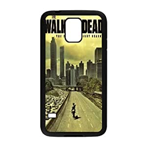 COOL Creative Desktop The Walking Dead CASE For Samsung Galaxy S5 Send tempered glass screen protector Q79D802834