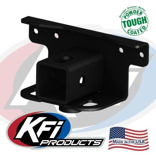 KFI Products 2007-15 Yamaha Grizzly 700 4x4 Receiver Hitch Adapter (Rear) By 101280 101280-2007-15Grizzly7004x4