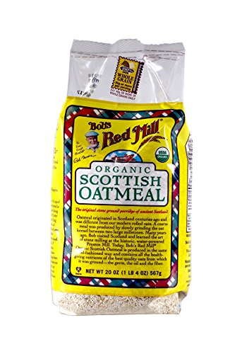 (Bob's Red Mill Organic Scottish Oatmeal, 20 oz, 2 pk)