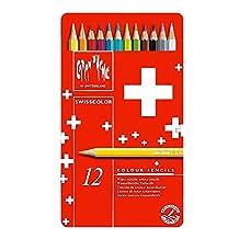 Swisscolor Pencils Metal Box Set Of 12 (japan import)