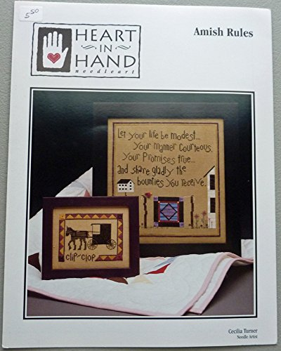 Amish Cross Stitch - Amish Rules - Heart in Hand Needleart - Cross Stitch Pattern - Cecilia Turner