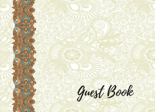 Guest Book: Guest Sign In Book For Wedding, For Over 200 Guests. Suitable For Wedding & Other Uses.  Free Layout To Use as you wish for Names & Addresses, or Advice, Wishes, Comments or Predictions