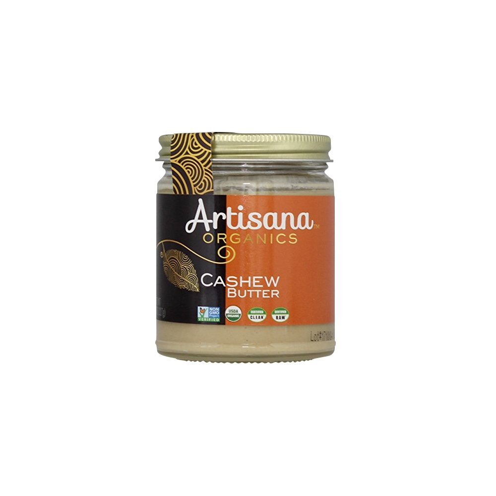 Artisana Organics - Cashew Butter, Certified organic, RAW and non-GMO, no added sugar or oil, rich and creamy