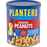 Planters Salted Cocktail Peanuts (16oz Canister, Pack of 3)