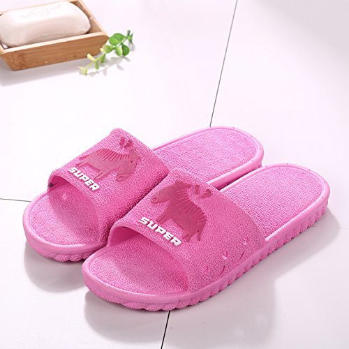 Sandals Home Red Interior 39 Men 40 Outside The Slip Slippers Summer Bathroom Anti Bath Thick fankou Cool Tide The fqxSC5nUw