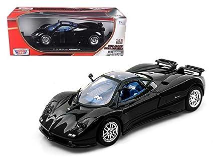 Pagani Zonda Summer Tires Online >> Amazon Com Motormax 73147 Pagani Zonda C12 Blue 1 18 Diecast Model