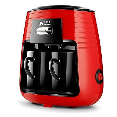 DPPAN Maquina de Cafe 2 Copas, Cafetera Extracción Completa, fácil ...